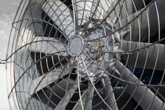 Free Huge Industrial Cooling Fan, Big Cooler Element Close Up Stock Photo - 163322680