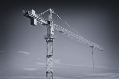 Huge industrial crane Royalty Free Stock Photography