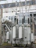 Huge industrial high voltage converter Royalty Free Stock Image