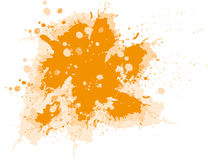 Huge ink blot Stock Photos