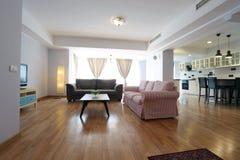 Huge livingroom Stock Photo