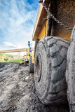 Huge machines used to coal excavation Stock Photography