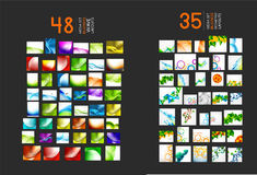 Huge mega collection of abstract backgrounds vector illustration