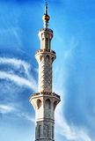 Huge Minaret Royalty Free Stock Images