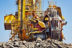 Huge mining machine Stock Images