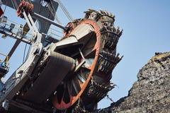 Huge mining machine Royalty Free Stock Images