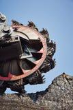 Huge mining machine Royalty Free Stock Photos