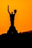 Motherland Statue in Kiev Royalty Free Stock Photo