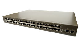 Huge Network Switch Royalty Free Stock Photo