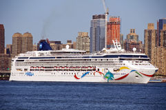 Huge Ocean Linear Norwegian Dawn Royalty Free Stock Photo