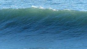 Huge Ocean Wave Breaking Off the Coast of California. A big wave breaking off of the coast of Santa Cruz, California, USA.  Filmed in Slow Motion at 120fps 720p stock video
