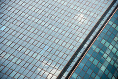 Huge office building of glass Royalty Free Stock Photography