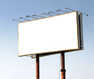 Huge outdoor billboard Royalty Free Stock Image