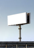 Huge outdoor billboard. Huge advertising outdoor billboard with white space to put your design Stock Image
