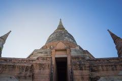 Huge pagoda. In Ayuthaya Thailand Stock Images