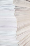 Huge paper stack Stock Photos
