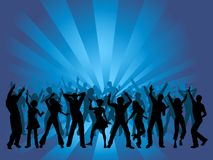 Huge party Royalty Free Stock Photo