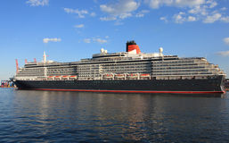Huge passenger liner Royalty Free Stock Image