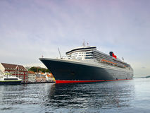 Huge passenger ship Royalty Free Stock Images