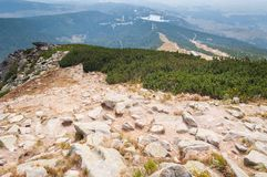 Huge peak of Solisko. High Tatras, Slovakia Stock Photography