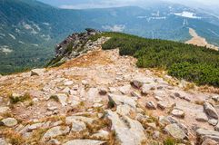 Huge peak of Solisko. High Tatras, Slovakia Royalty Free Stock Photos