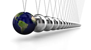 Huge Pendulum Royalty Free Stock Image