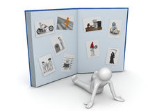 Huge photo album - Lifestyle Stock Image