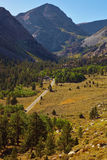 Huge picturesque valley in autumn day Royalty Free Stock Images