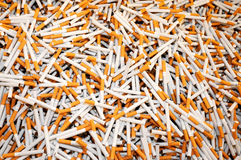 Smoking cigarettes Royalty Free Stock Image