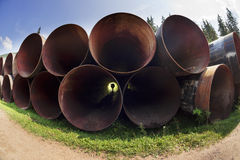 Huge pipes Stock Photos