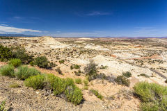 Huge plateau in Utah Royalty Free Stock Photos