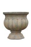 Huge pot isolated on white background. Close up of huge pot isolated on white background Stock Image