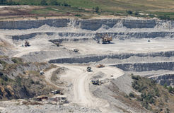 Huge quarry Stock Photography