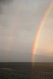 Huge rainbow Royalty Free Stock Photo