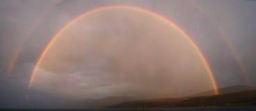 Huge rainbow Stock Photography