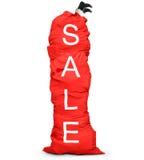 Huge red bag Stock Photos