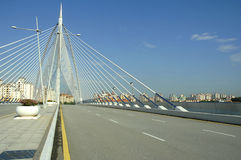 Huge Road Bridge Royalty Free Stock Photos