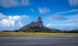Huge rock in Fernando de Noronha Royalty Free Stock Photography