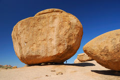 Huge Rock In Erongo Mountains Stock Photography