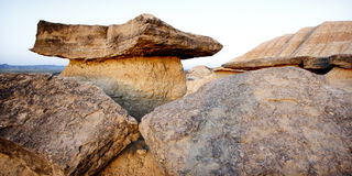 Huge rocks. Royalty Free Stock Photography