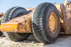 Huge Rubber Tires Stock Photo