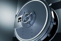 Huge Safe Bank Vault Royalty Free Stock Photo