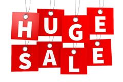 Huge sale concept... Stock Photography