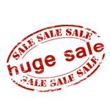 Huge sale. Rubber stamp with text huge sale inside,  illustration Stock Image