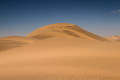 Huge sand dunes near Swakopmund Stock Photography