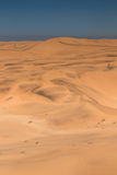 Huge sand dunes near Swakopmund Royalty Free Stock Photo
