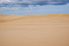 Huge sand dunes at North island Stock Photography