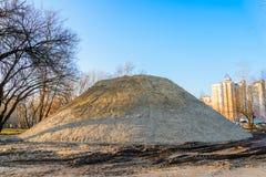 Huge Sand Pile Stock Photography
