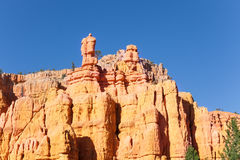 Huge sandstone mountains of Bryce Canyon, Utah Stock Image