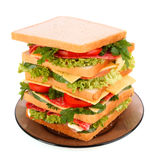 Huge sandwich Royalty Free Stock Image